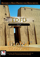 global treasures  edfu temple egypt