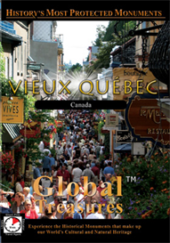 Global Treasures  VIEUX-QUEBEC (OLD QUEBEC) Quebec, Canada | Movies and Videos | Action