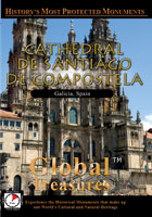 Global Treasures  CATHEDRAL OF SANTIAGO OF COMPOSTELA Galicia, Spain | Movies and Videos | Action