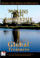 Global Treasures  MOLENS VAN KINDERDIJK The Windmills of Kinderdijk, Holland | Movies and Videos | Action