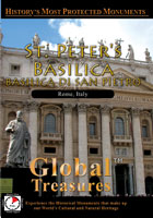 Global Treasures  ST. PETER's BASILICA Basiclica Di San Pietro Rome, Italy | Movies and Videos | Action