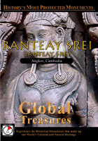 Global Treasures  BANTEAY SREI Banteay Srey Angkor, Cambodia | Movies and Videos | Action