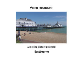 Eastbourne Video Postcard   Movies and Videos   Action