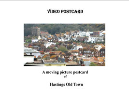 Hastings Old Town Video Postcard | Movies and Videos | Action