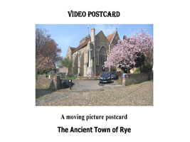 The Ancient Town of Rye Video Postcard | Movies and Videos | Action