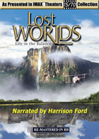 IMAX Life in the Balance Lost Worlds Hosted by Harrison Ford | Movies and Videos | Action