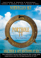 PortholeTV Ship: NORWEGIAN SKY Asia tour and Art Auctions at sea | Movies and Videos | Action