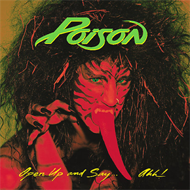POISON Open Up And Say...Ahh! (1988) (CAPITOL RECORDS) (10 TRACKS) 320 Kbps MP3 ALBUM | Music | Rock