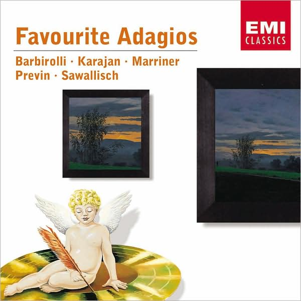 First Additional product image for - FAVOURITE ADAGIOS Barbirolli Karajan Marriner Previn Sawallisch (2002) (EMI Classics) 320 Kbps MP3 ALBUM