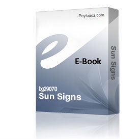 Sun Signs | Audio Books | Religion and Spirituality