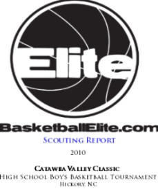 Scouting Report: Catawba Valley Classic 2010 (High School Boys Basketball) | eBooks | Sports