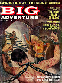 complete big adventure magazine, september 1960