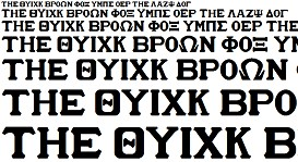 GreekHouse Varsity Set | Other Files | Fonts