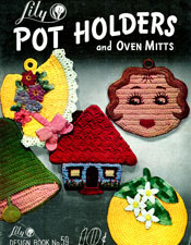 Pot Holders and Oven Mitts - Adobe .pdf Format | eBooks | Arts and Crafts
