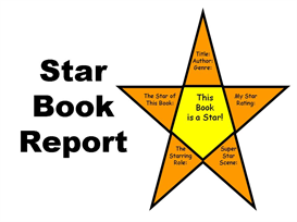 Star Book Report Set | Other Files | Documents and Forms