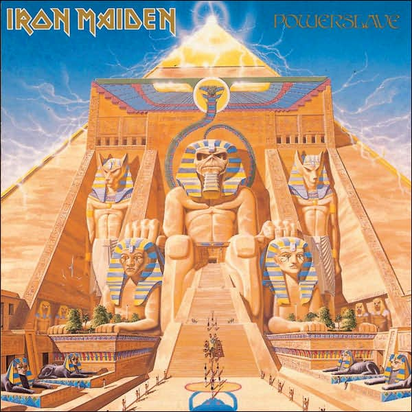 First Additional product image for - IRON MAIDEN Powerslave (1998) (RMST) (RAW POWER) (8 TRACKS) 320 Kbps MP3 ALBUM