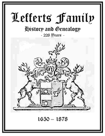 Lefferts Family History and Genealogy | eBooks | History