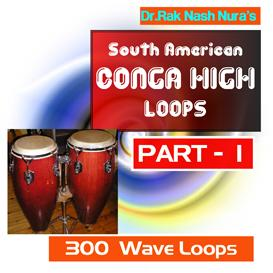 SOUTH AMERICAN DRUM CONGA high - PART - 1 | Music | Soundbanks