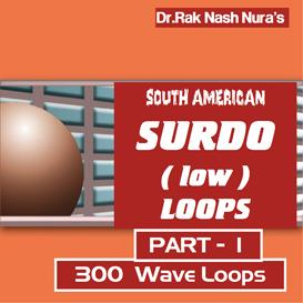 SOUTH AMERICAN SURDO DRUM  low  - PART - 1 | Music | Soundbanks
