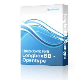 LongboxBB - Opentype | Software | Design