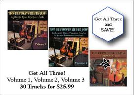 ultimate jam tracks - blues set (1,2,3)