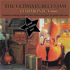 ultimate jam tracks - blues vol 3 (harmonica)