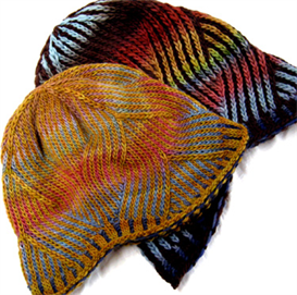 Nepali Striped Wavy Hat | Other Files | Arts and Crafts