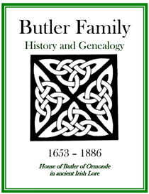 Butler Family History and Genealogy | eBooks | History