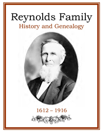 Reynolds Family History and Genealogy | eBooks | History