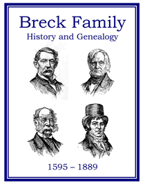 Breck Family History and Genealogy | eBooks | History
