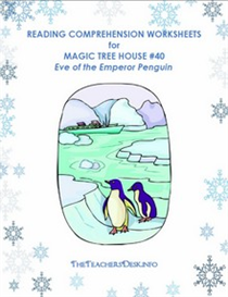 MTH44 Eve of the Emperor Penguin Reading Comprehension & L/A Worksheets | eBooks | Education
