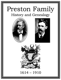 Preston Family History and Genealogy | eBooks | History