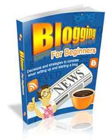 Blogging for Beginners - Rebrandable Too | eBooks | Internet