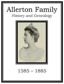 Allerton Family History and Genealogy | eBooks | History