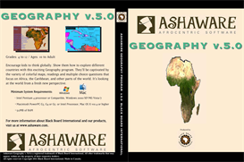 BBI Ashaware Geography Home v. 5.0 Win-1 Download | Software | Audio and Video