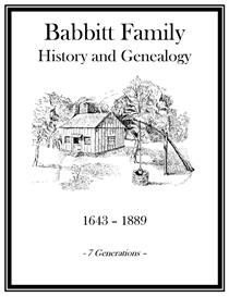 Babbitt Family History and Genealogy | eBooks | History