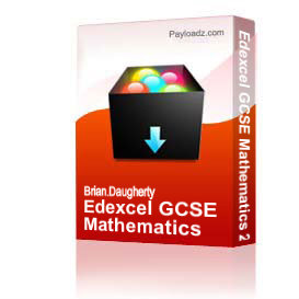 Edexcel GCSE Mathematics 2010 - Foundation | Other Files | Documents and Forms