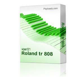 Roland tr 808 | Music | Soundbanks