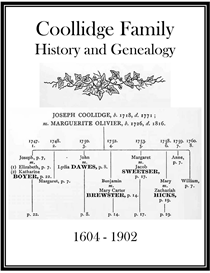 Coolllidge Family History and Genealogy | eBooks | History