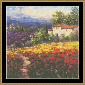 fleur du pays ii - cross stitch download