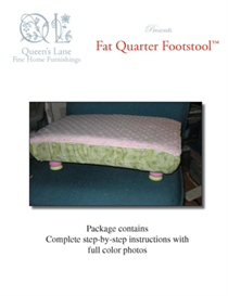 fat quarter footstool