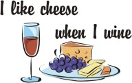 Cheese-Wine Machine Embroidery File | Other Files | Arts and Crafts