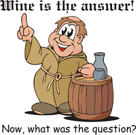 Wine Is The Answer Machine Embroidery File | Other Files | Patterns and Templates