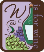 W is for Wine Machine Embroidery File | Other Files | Patterns and Templates