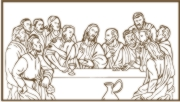 Last Supper Machine Embroidery File | Other Files | Arts and Crafts