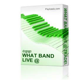What Band Live @ Tradewind's 2/12/2011 Tripple Cd Set | Music | R & B