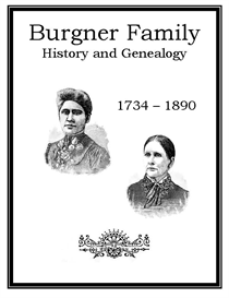 Burgner Family History and Genealogy | eBooks | History