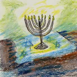 Lev and Evie's Hanukah Challah -PDF | Audio Books | Children's