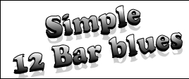 simple 12 bar blues