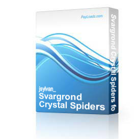 Svargrond Crystal Spiders for MAGE